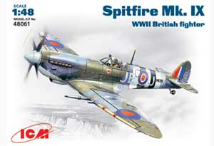 Spitfire Mk.IX British fighter  (Vista 1)