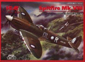 Spitfire Mk.VIII, WWII British Fighter   (Vista 1)