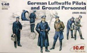 Aviadores Alemanes Luftwaffe  (Vista 1)