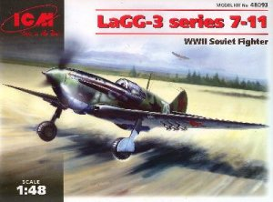 LaGG-3 series 7-11 WWII Soviet Fighter   (Vista 1)