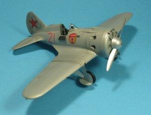 I-16 type 24, WWII Soviet Fighter  (Vista 2)