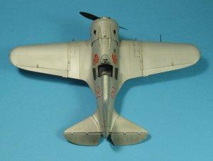 I-16 type 24, WWII Soviet Fighter  (Vista 3)