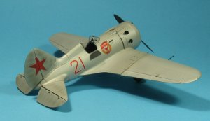 I-16 type 24, WWII Soviet Fighter  (Vista 4)