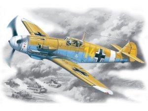 Bf-109 F-4Z/Trop WWII German Fighter  (Vista 1)