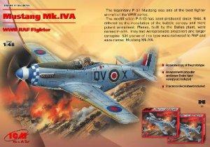 Mustang Mk. IV A RAF 1944  (Vista 1)