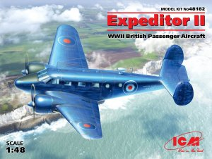 Expeditor II, WWII British Passenger Air  (Vista 1)