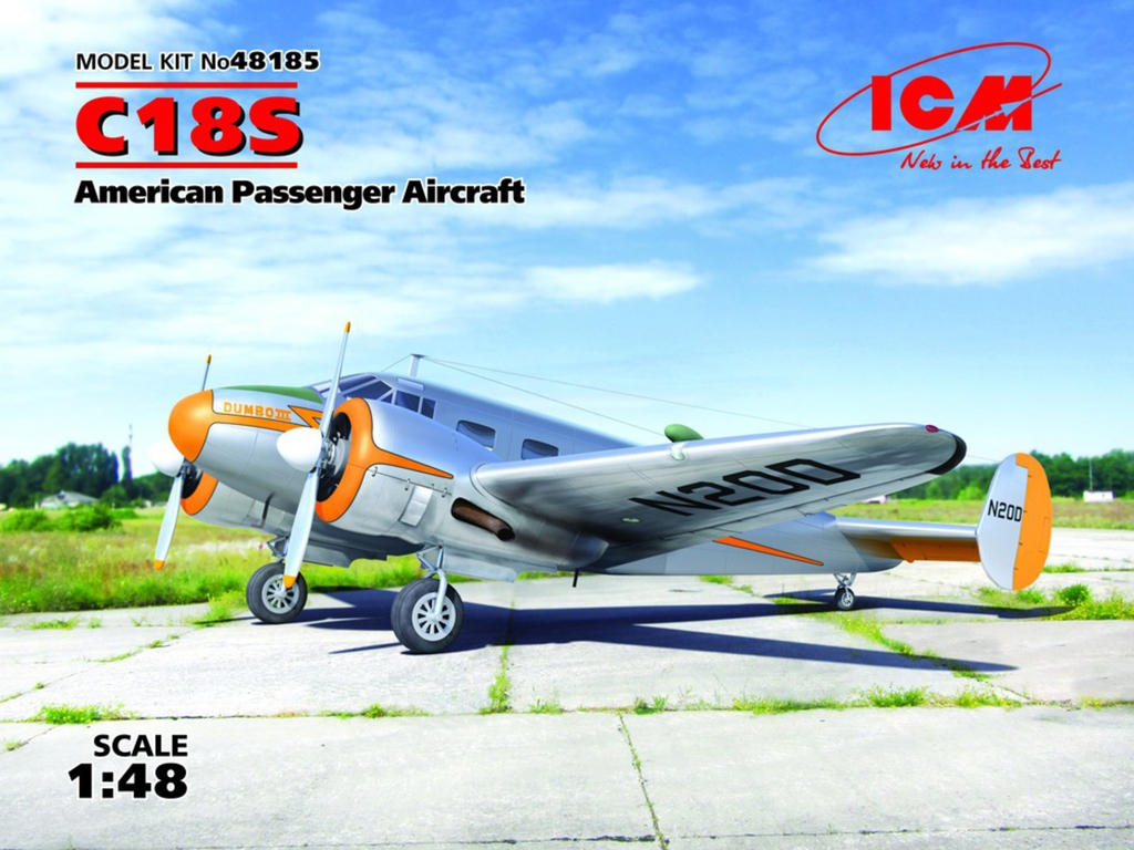 C18S, American Passenger Aircraft  (Vista 1)