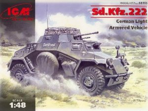 Vehiculo Blndado Aleman Sd.Kfz 222  (Vista 1)