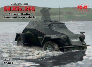 Sd.Kfz.260, German Radio Communication V  (Vista 1)