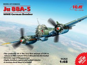 Ju 88A-5, WWII German Bomber  (Vista 1)