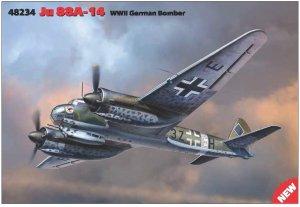 Ju 88A-4, WWII German Bomber  (Vista 1)