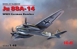 Ju 88A-14, WWII German Bomber  (Vista 1)