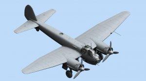 Ju 88A-14, WWII German Bomber  (Vista 2)