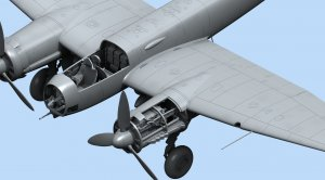Ju 88A-14, WWII German Bomber  (Vista 4)