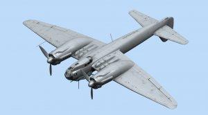 Ju 88A-14, WWII German Bomber  (Vista 6)