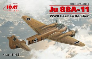 Ju 88A-11, WWII German Bomber  (Vista 1)