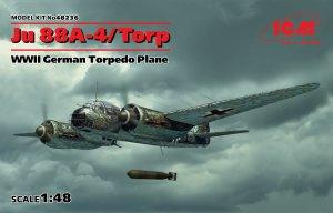 Ju 88A-4/Torp, WWII German Torpedo Plane  (Vista 1)