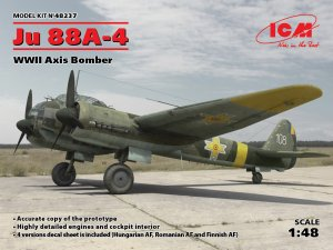 Ju 88A-4, WWII Axis Bomber  (Vista 1)