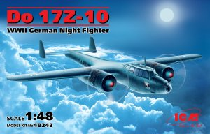 Do 17Z-10, WWII German Night Fighter  (Vista 1)