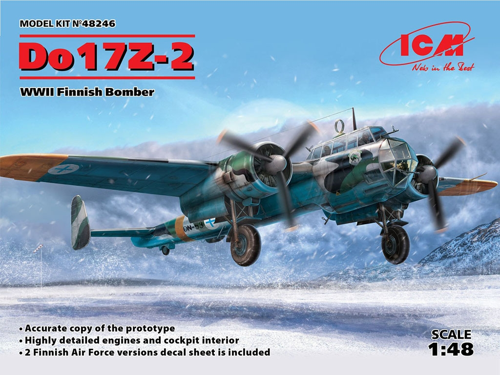 Do 17Z-2, Bombardero Finlandés  (Vista 1)