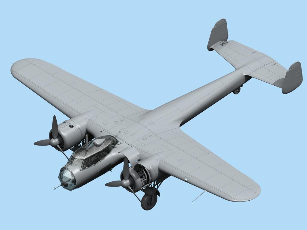 Do 17Z-2, Bombardero Finlandés  (Vista 2)