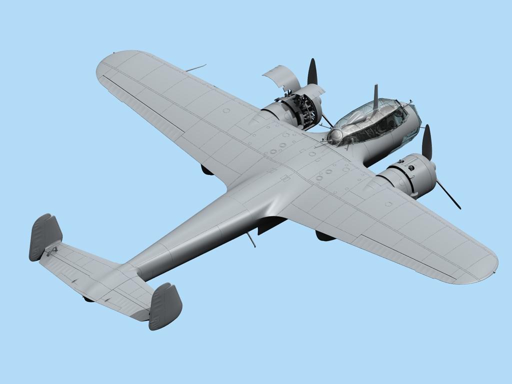 Do 17Z-2, Bombardero Finlandés  (Vista 3)