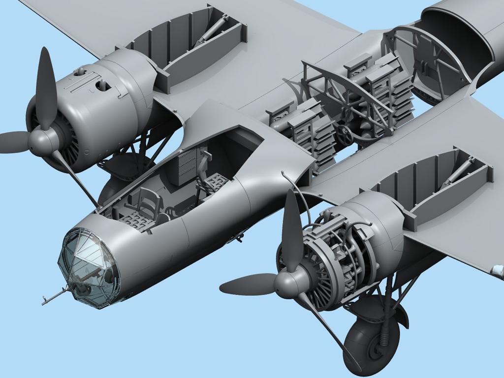 Do 17Z-2, Bombardero Finlandés  (Vista 4)