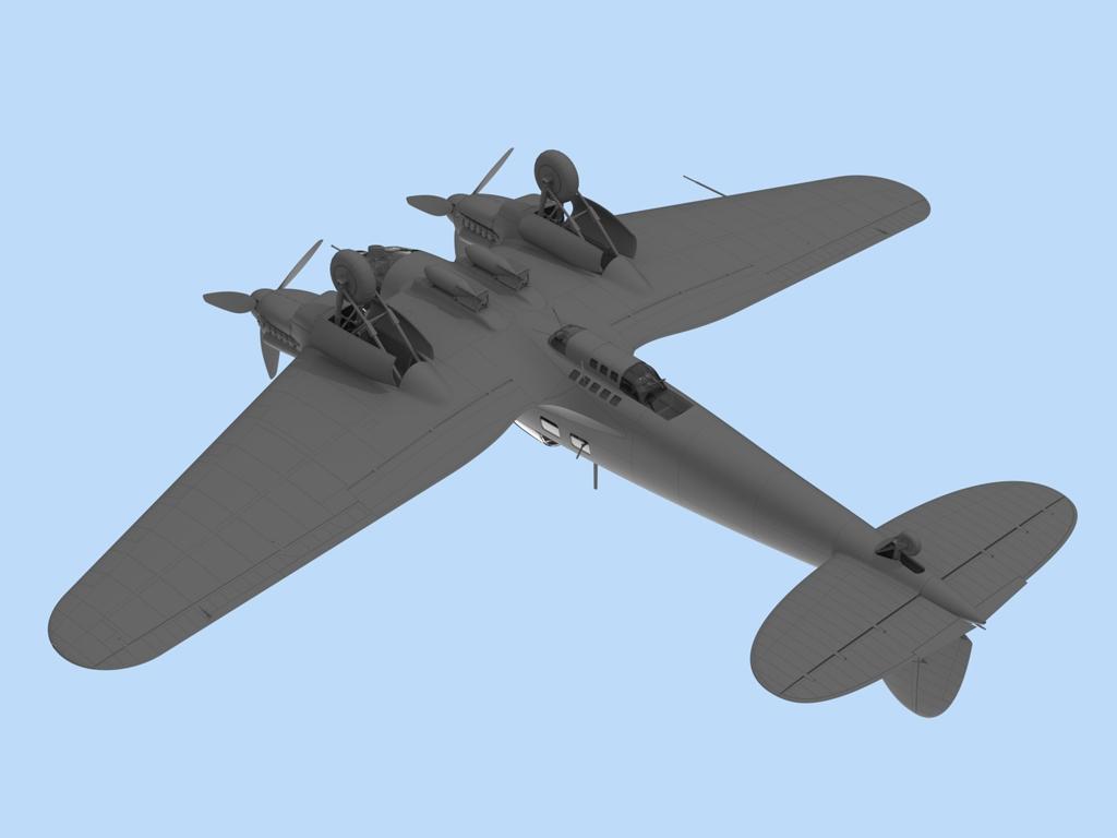 He 111H-6, WWII German Bomber  (Vista 6)