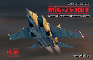 MiG-25 RBT, Soviet Reconnaissance Plane  (Vista 1)