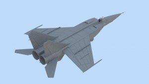 MiG-25 RBT, Soviet Reconnaissance Plane  (Vista 3)
