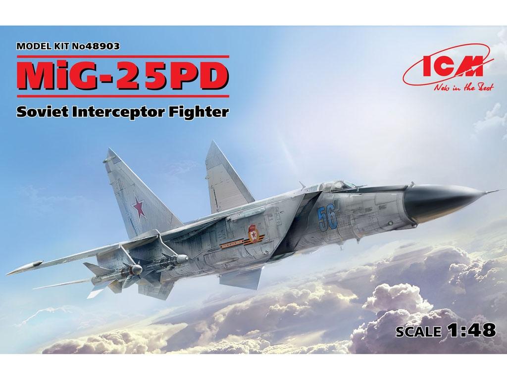 MiG-25 PD, Soviet Interceptor Fighter  (Vista 1)