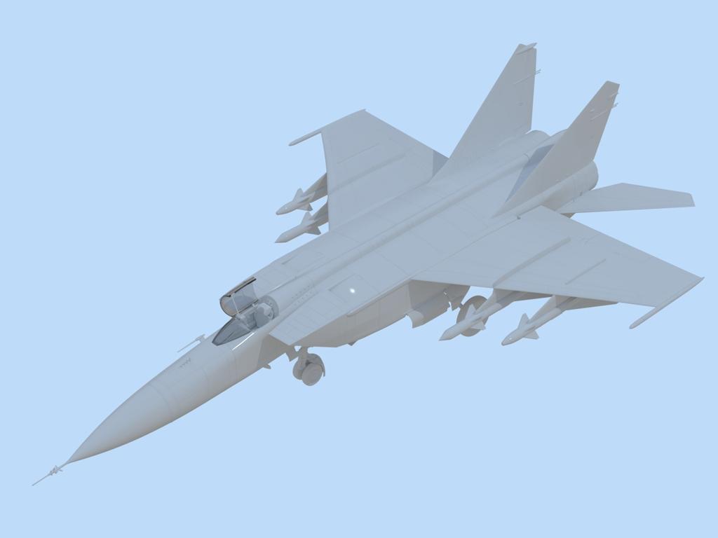 MiG-25 PD, Soviet Interceptor Fighter  (Vista 2)