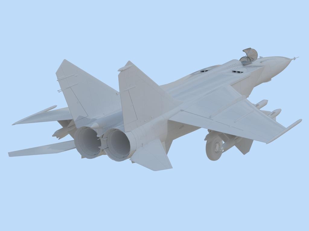 MiG-25 PD, Soviet Interceptor Fighter  (Vista 4)
