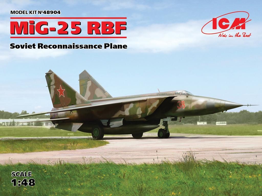 MiG-25 RBF, Soviet Reconnaissance Plane  (Vista 1)