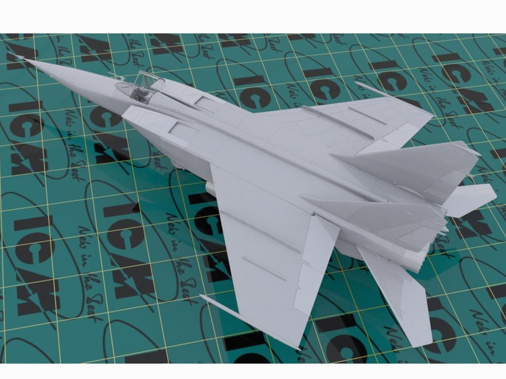 MiG-25 RBF, Soviet Reconnaissance Plane  (Vista 3)