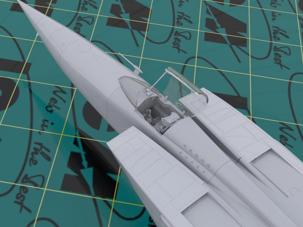 MiG-25 RBF, Soviet Reconnaissance Plane  (Vista 4)