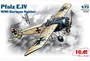 Pfalz E-IV WWI German fighter   (Vista 1)