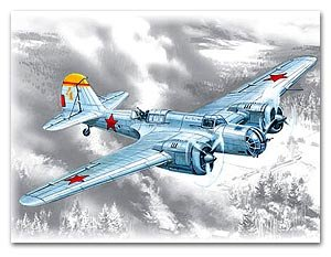 Bombardero Sovietico SB-2M-100A  (Vista 1)