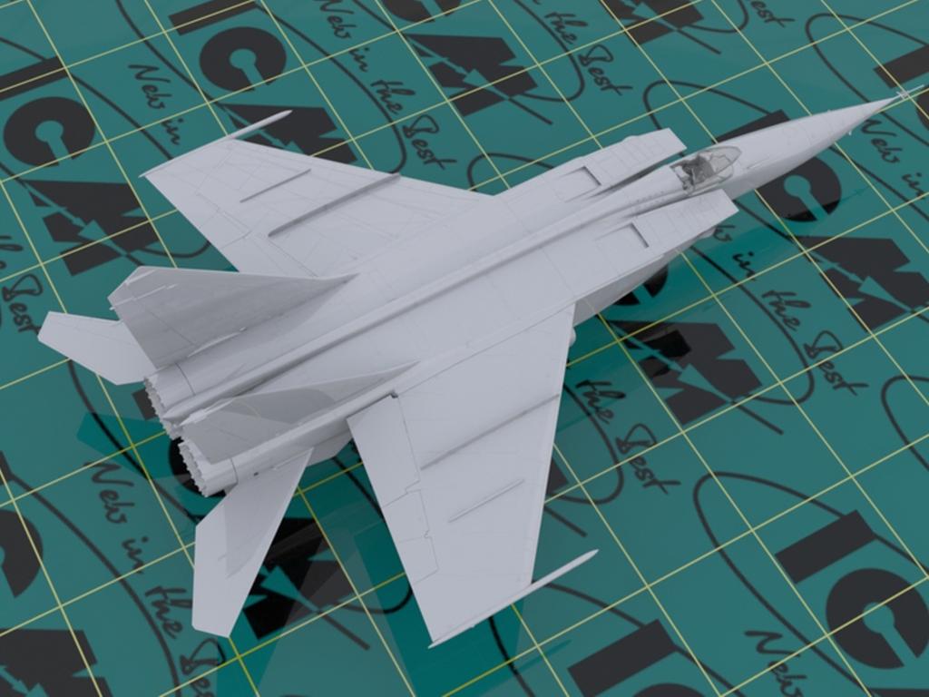MiG-25 RBT, Soviet Reconnaissance Plane  (Vista 5)