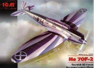 He 70F-2, Spanish Air Force Reconnaissan  (Vista 1)