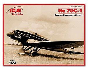 He 70G-1, German Passenger Aircraft  (Vista 1)