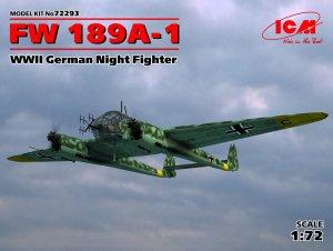FW 189A-1, WWII German Night Fighter  (Vista 1)