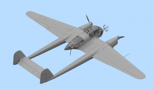 FW 189A-1, WWII German Night Fighter  (Vista 3)