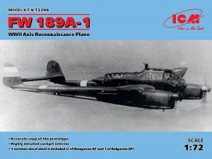FW 189A-1, WWII Axis Reconnaissance Plan  (Vista 1)
