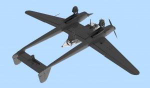 FW 189A-1, WWII Axis Reconnaissance Plan  (Vista 3)
