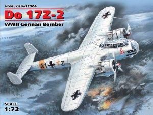 Do 17Z-2, WWII German Bomber  (Vista 1)
