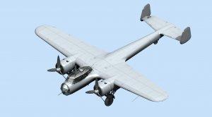 Do 17Z-2, WWII German Bomber  (Vista 2)