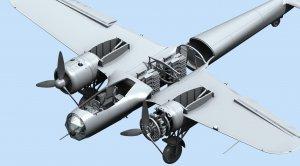 Do 17Z-2, WWII German Bomber  (Vista 5)