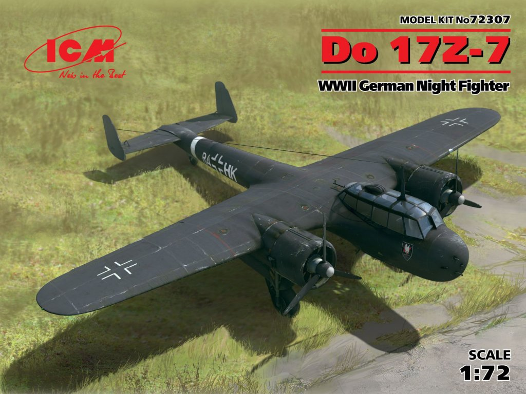 Do 17Z-7, WWII German Night Fighter  (Vista 1)