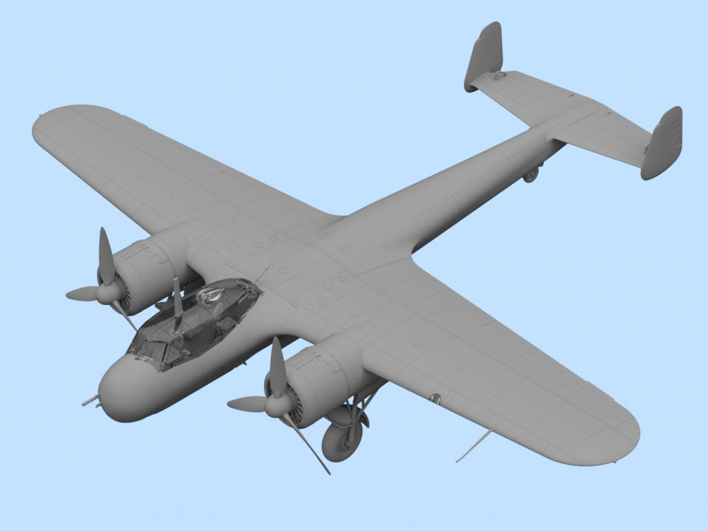 Do 17Z-7, WWII German Night Fighter  (Vista 2)